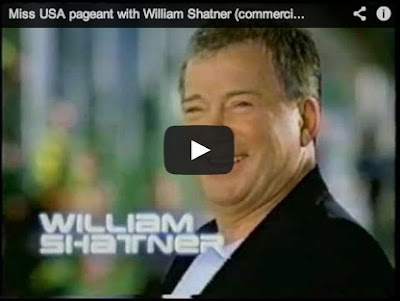 Miss USA Pageant commercial (2001) - William Shatner