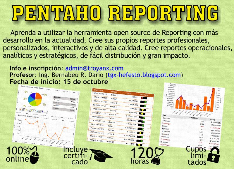 Curso Pentaho reporting