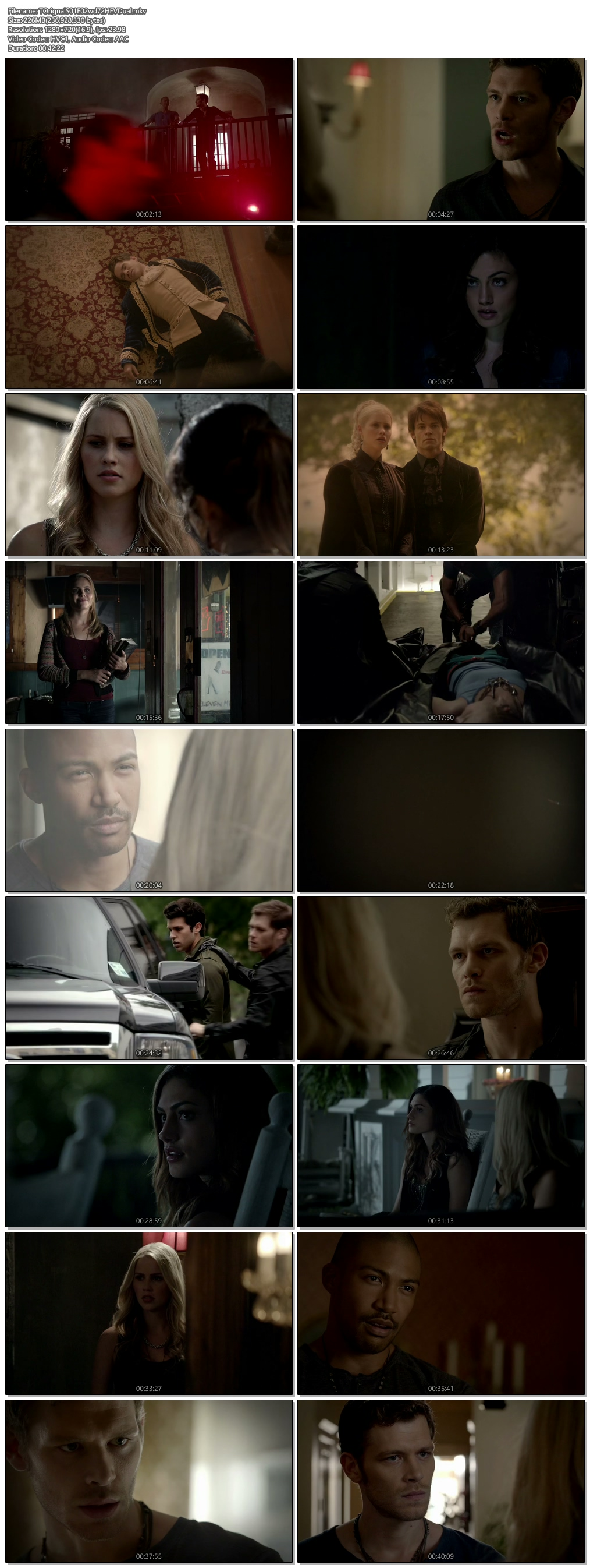Screenshots Of Hindi Dubbed Show The Originals 2013 Season 01 Episode 02 300MB 720P HD