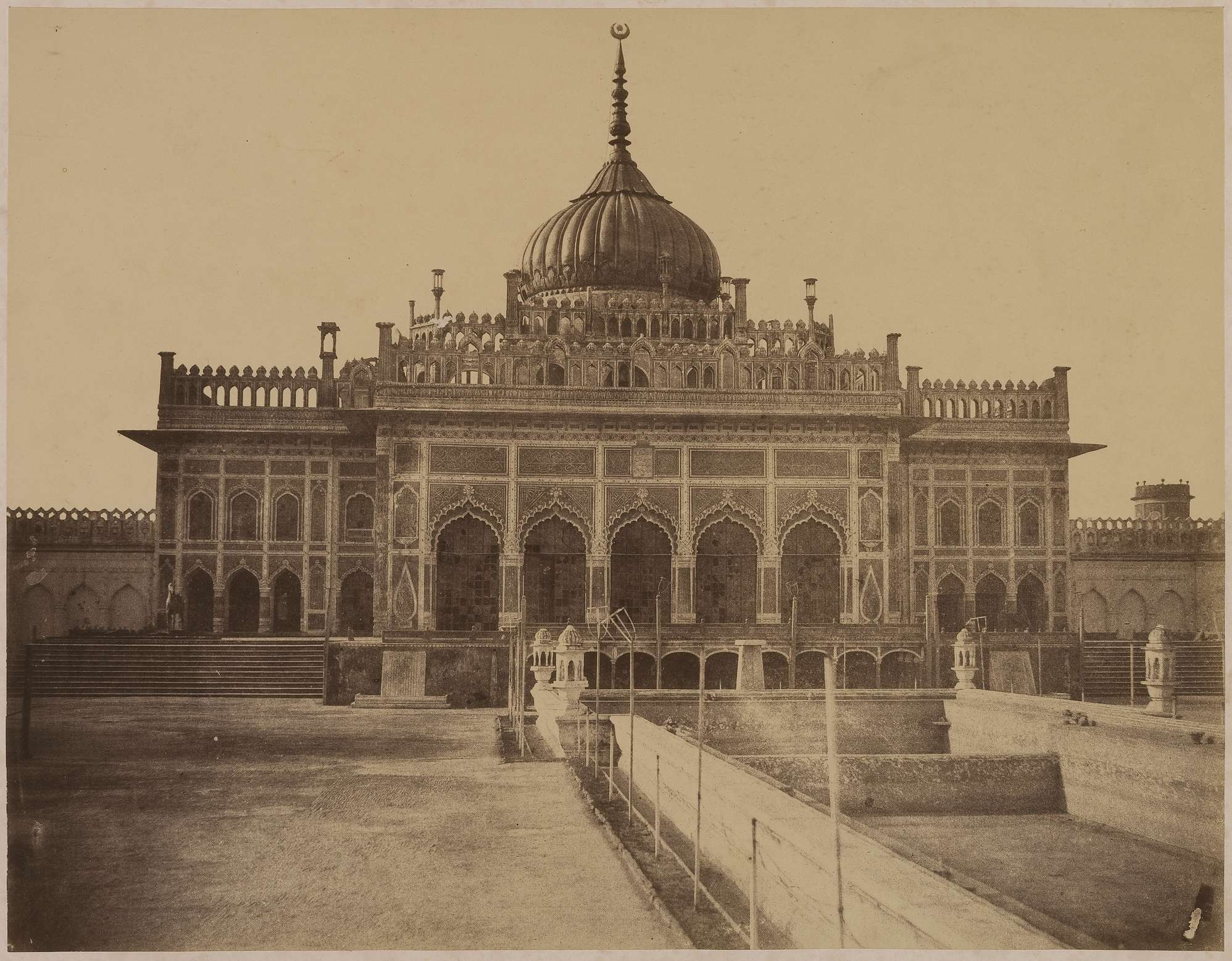 Hussainabad Imambara Chotta Imambara Lucknow Old Indian Photos
