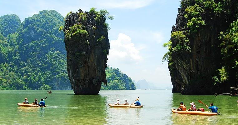 james bond island phuket thailand phang nga krabi. Black Bedroom Furniture Sets. Home Design Ideas