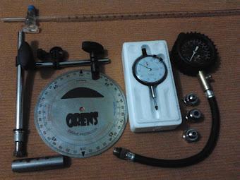 Dial gauge n busur drajat 1,1 jt