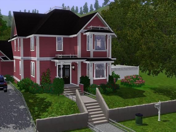 my sims 3 blog: breehodge's halliwell manor