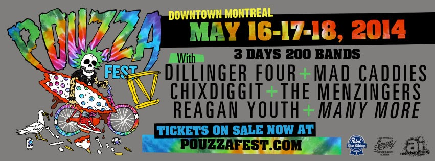 POUZZAFEST IV DOWTOWN MONTREAL MAY 16,17,18, 2014