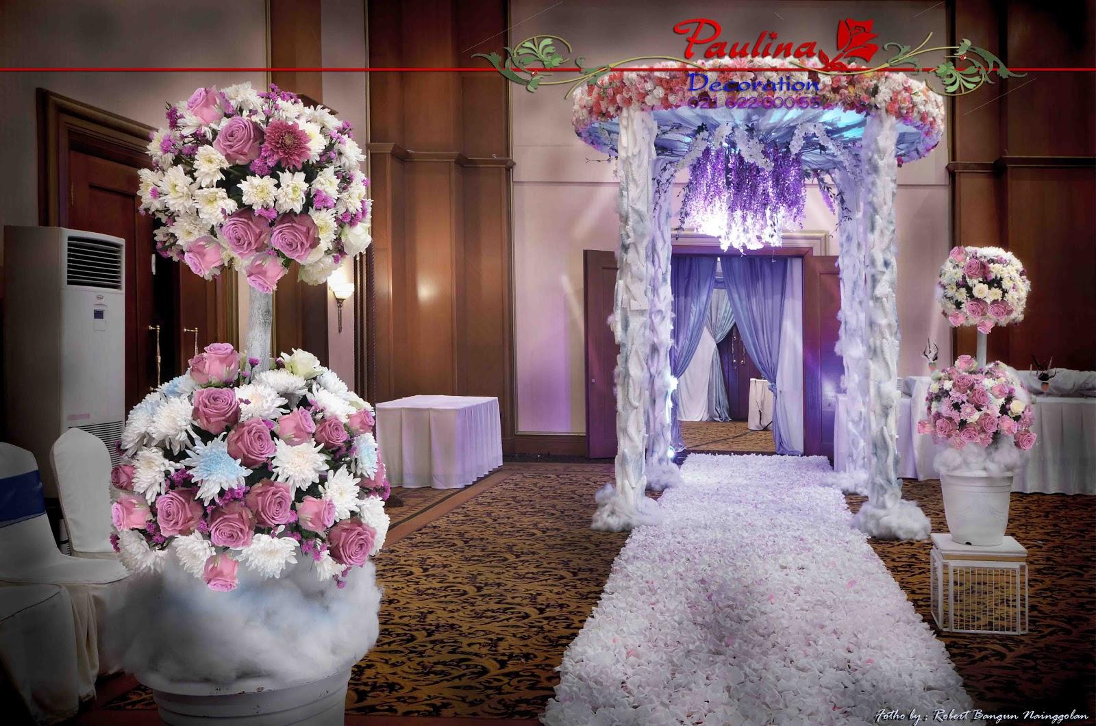 Dekorasi wedding paulina 2012 four season junglespirit Images