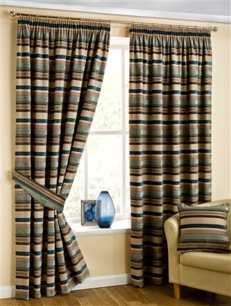 Natasha Lined Tape Top Curtains