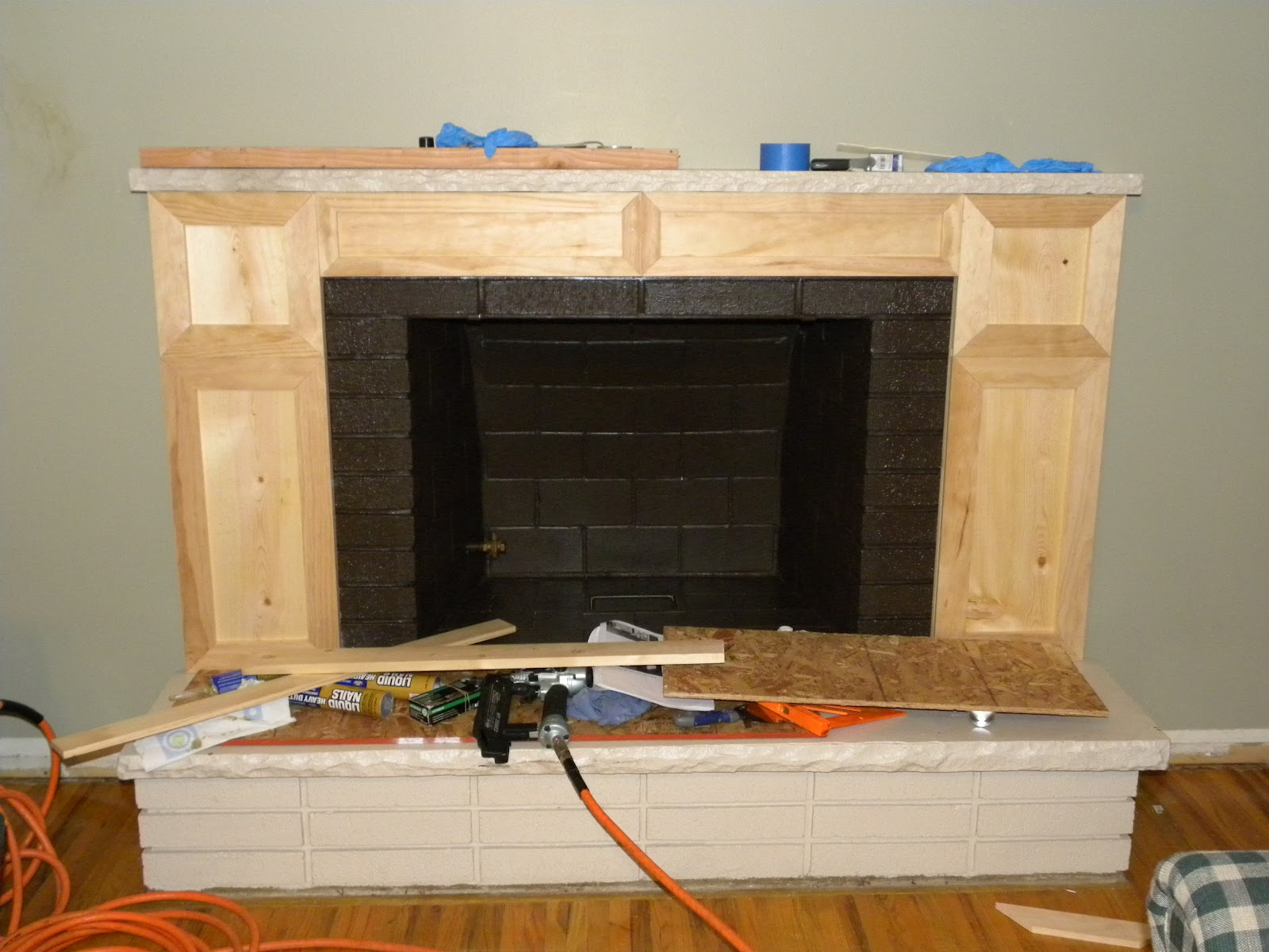 createinspiremotivate fireplace makeover