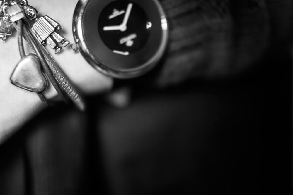 bransoletka pajacyk pah blog modowy zegarek klasyczny czarny