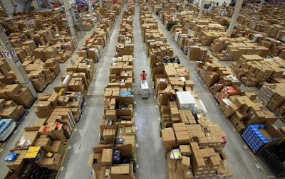 [Video] Isi Gudang Toko Online 'Amazon'!!!!