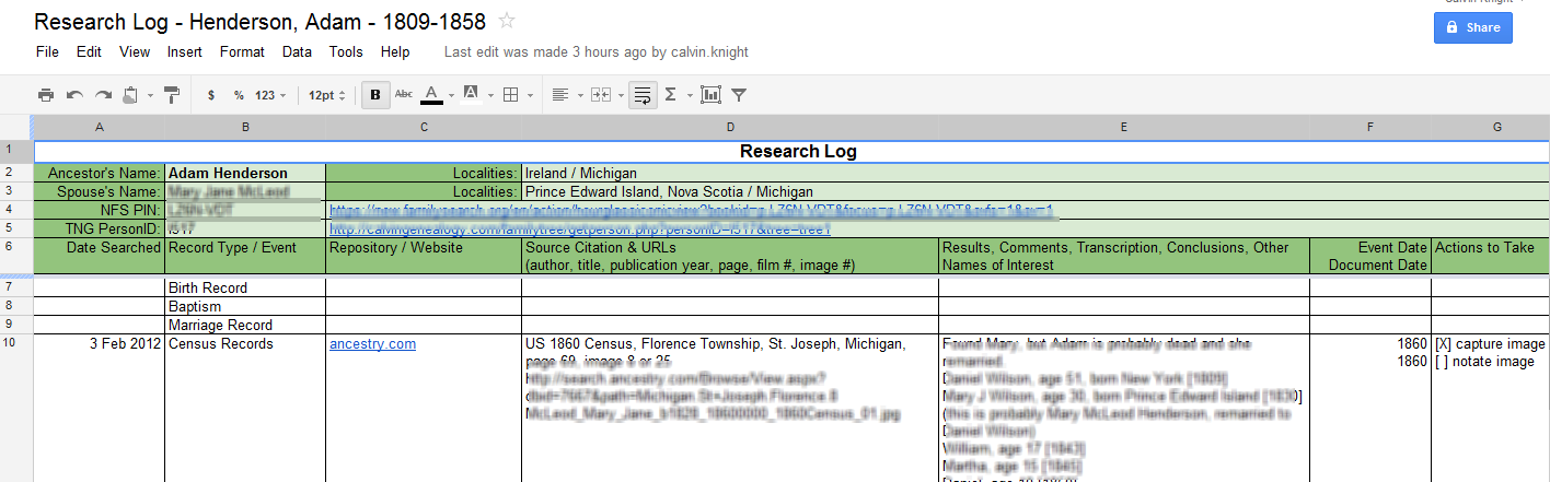 reserch log Uses & purpose of research log template the purpose of the research template is to find more about the topic and have handful of details before further proceeding for the project work the short and rightly presented findings make it easier for future to study the detail of family or project.