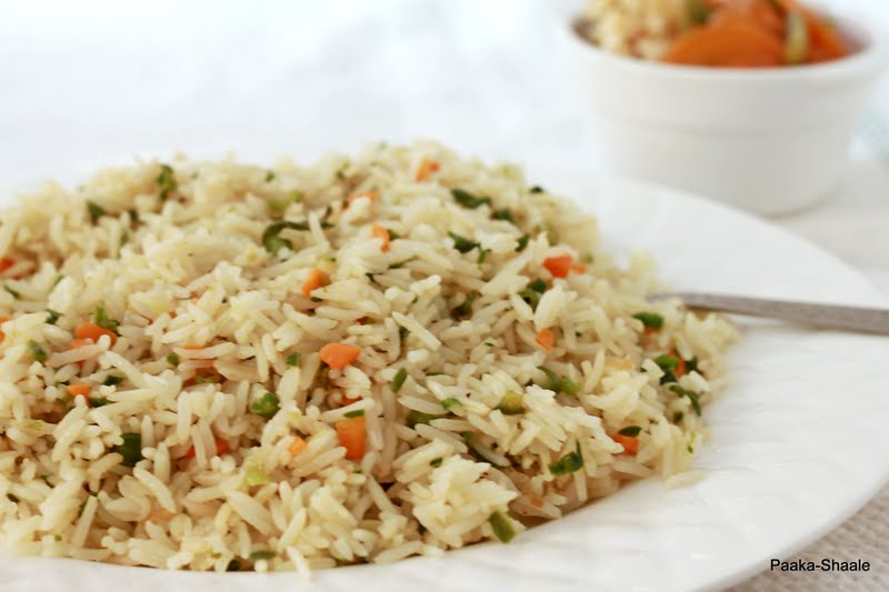 Paaka shaale chinese fried rice with hong kong style vegetable chinese fried rice with hong kong style vegetable ccuart Choice Image