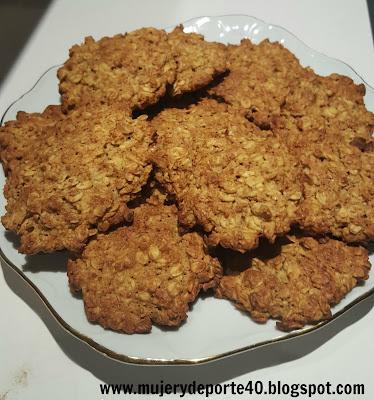 mujerydeporte40 receta galletas avena y naranja