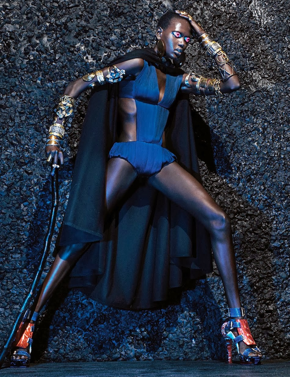 Warrior Stance HQ Pictures W  Magazine Photoshoot March 2014 By Steven Klein