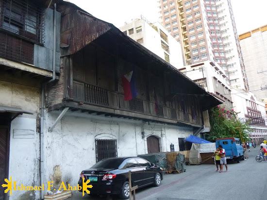 Heneral Antonio Luna's house along Urbiztondo, San Nicolas Manila