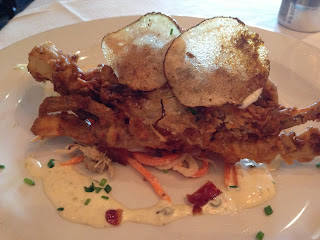 Todd Jurich's Bistro dish: Chesapeake Bay Soft Shell Crabs