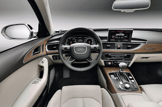 2012 Audi A6 Saloon Front Interior