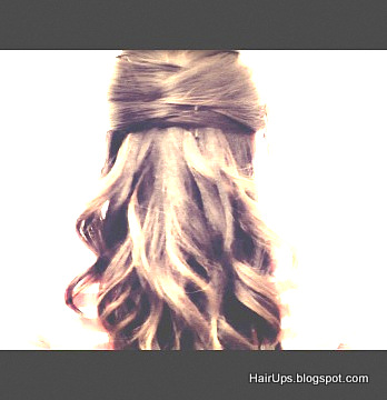 Image35 7 Easy Everyday Long Hairstyles | Cute Half Updos Hair Tutorial Video
