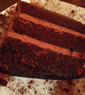 chocolate cake from le chocolat