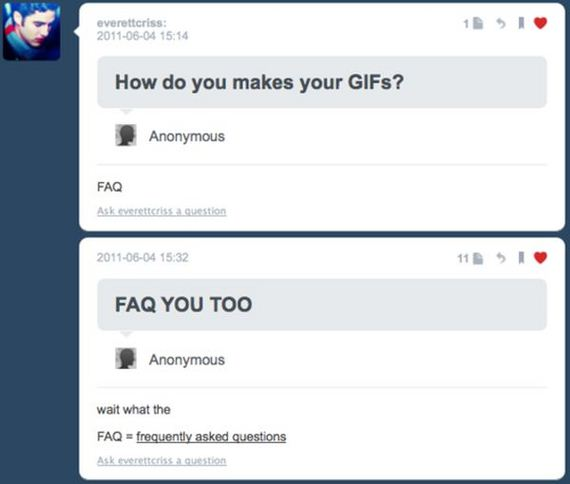 Funny Comments on Tumblr