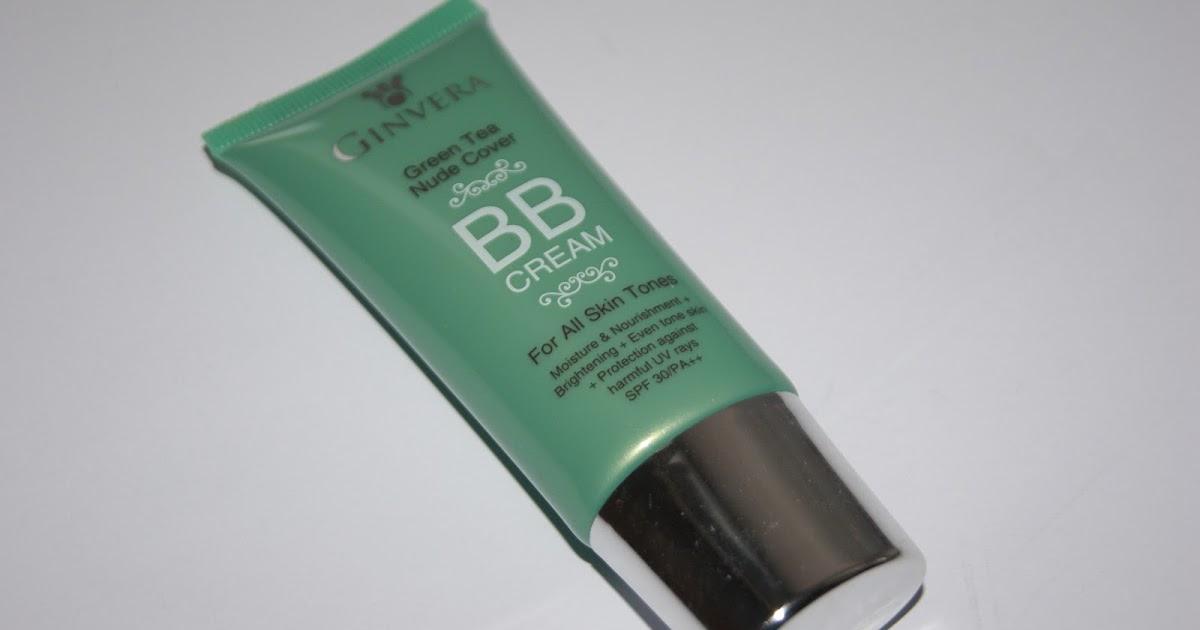 Ginvera Green Tea Nude Cover BB Cream | The CSI Girls
