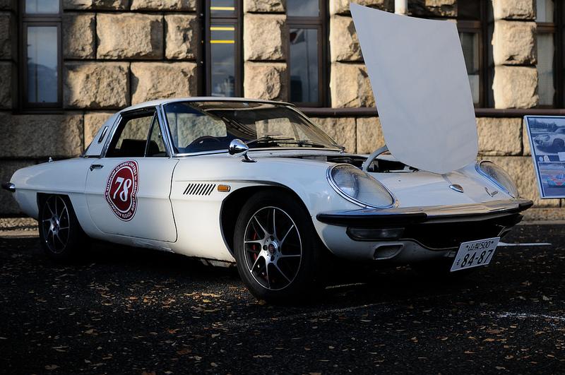 Mazda Cosmo Sport, silnik wankla, rotary, kultowy samochód, zdjęcia,