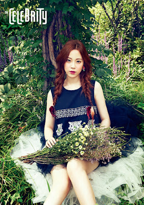 Young Ji KARA - The Celebrity Magazine October Issue 2015