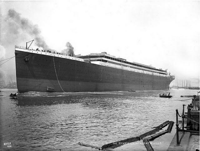Grandes estructuras históricas en construcción Fotograf%25C3%25ADas+de+la+construcci%25C3%25B3n+del+Titanic+23