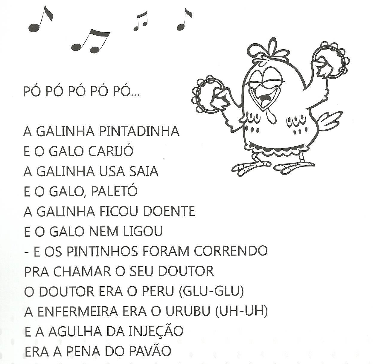 Conhecido ALFABETIZAÇÃO CEFAPRO - PONTES E LACERDA/MT : Atividades Galinha  TP97