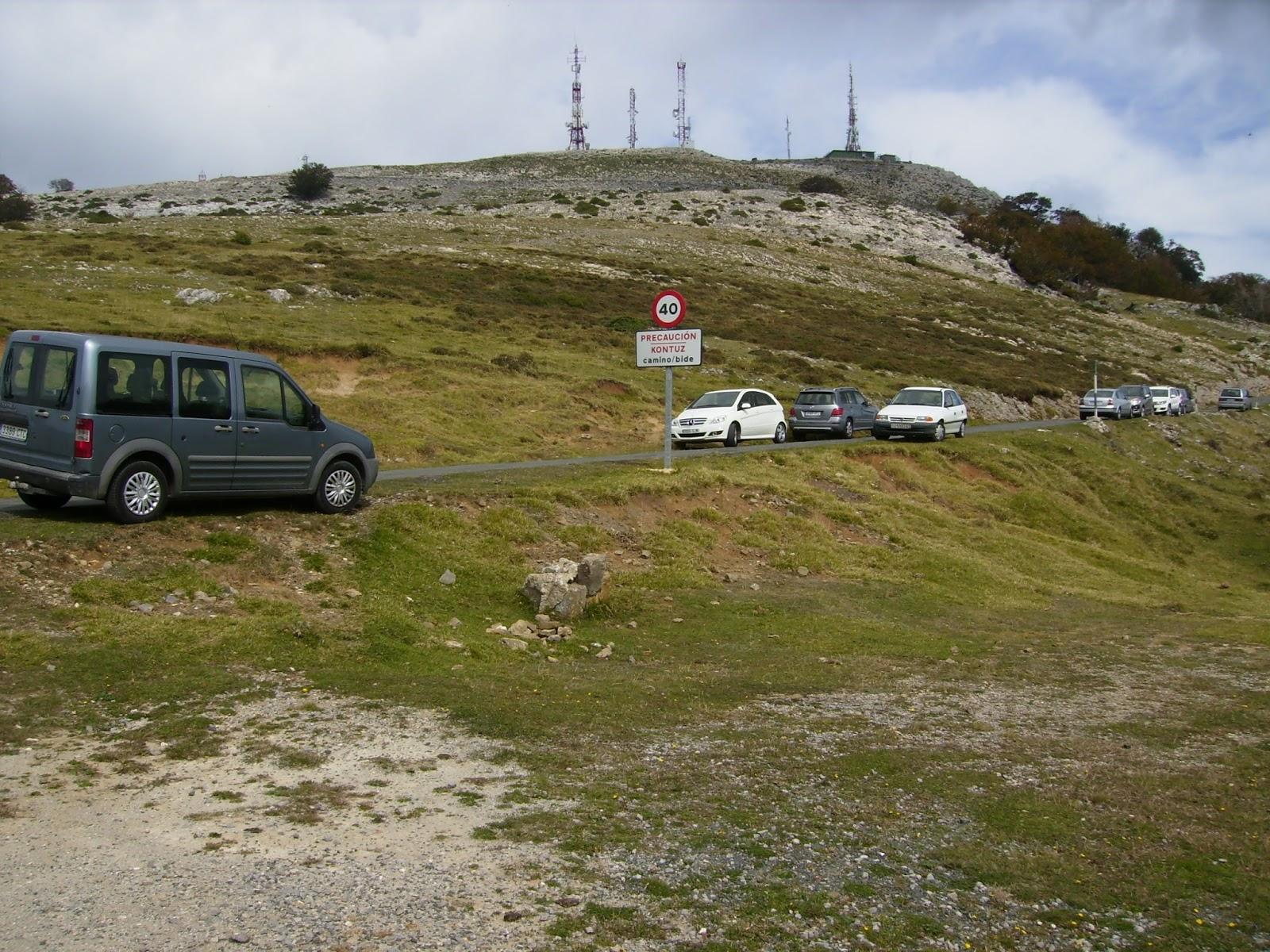 Montes De Navarra Altxueta Y San Miguel Aralar Desde