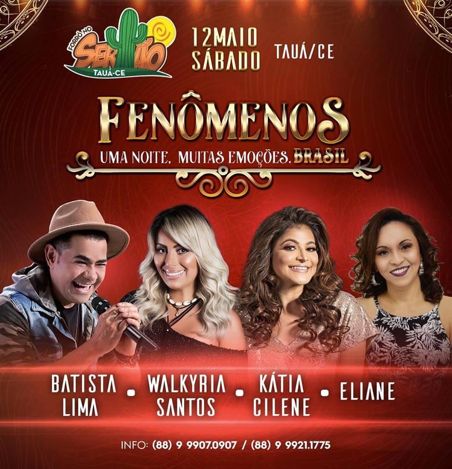 Em MAIO/2018 - Forró No Sertão - Tauá.