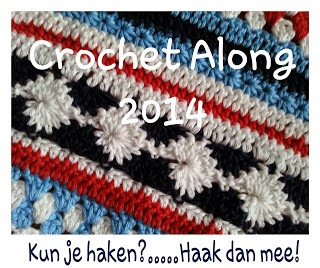 Crochet a long a stripey blanket