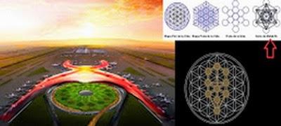 aeropuerto6 - Qué misterio encierra el nuevo aeropuerto de la ciudad de México, simbología demoníaca: geometría sagrada y masonería