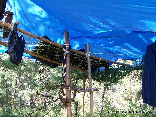 Durmiendo al aire libre en Tapalpa
