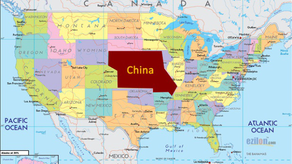 China Poised To Demand 'U.S. Land' As Payment For U.S. Debt