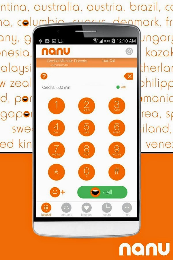 nanuapp Hot: Nanu free call Application Now Available For Download