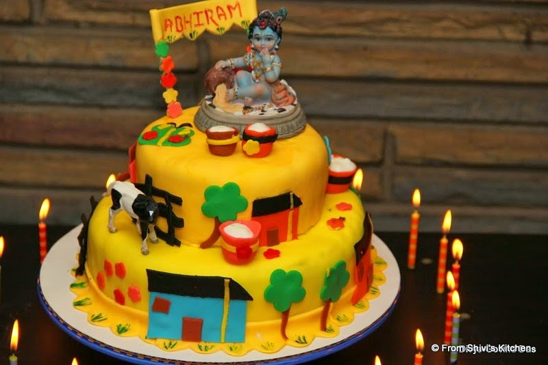 Cake Images With Name Krishna : From Shivi s Kitchen: Cake Designs