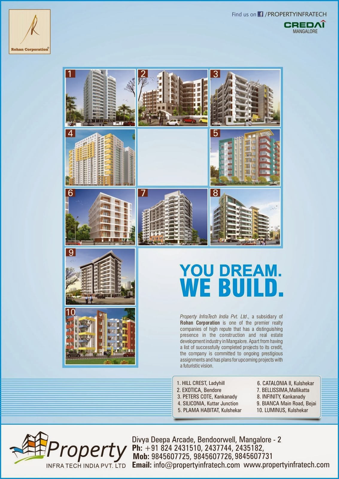 Author Cdy >> Property Infratech Paper Ad | DESIGN