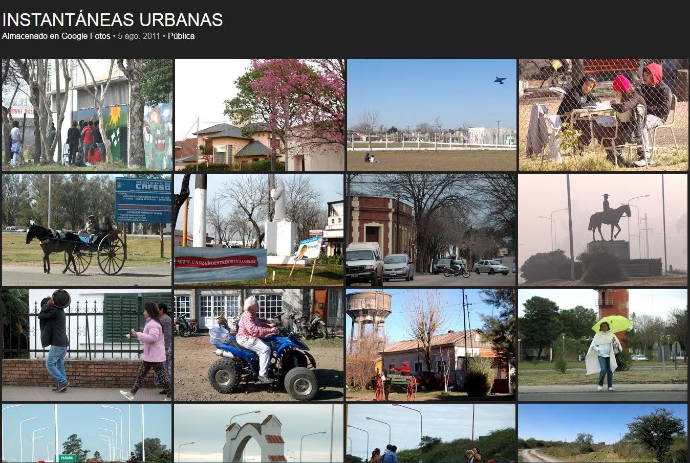 ARCHIVO-GALERÍA DE INSTANTÁNEAS URBANAS