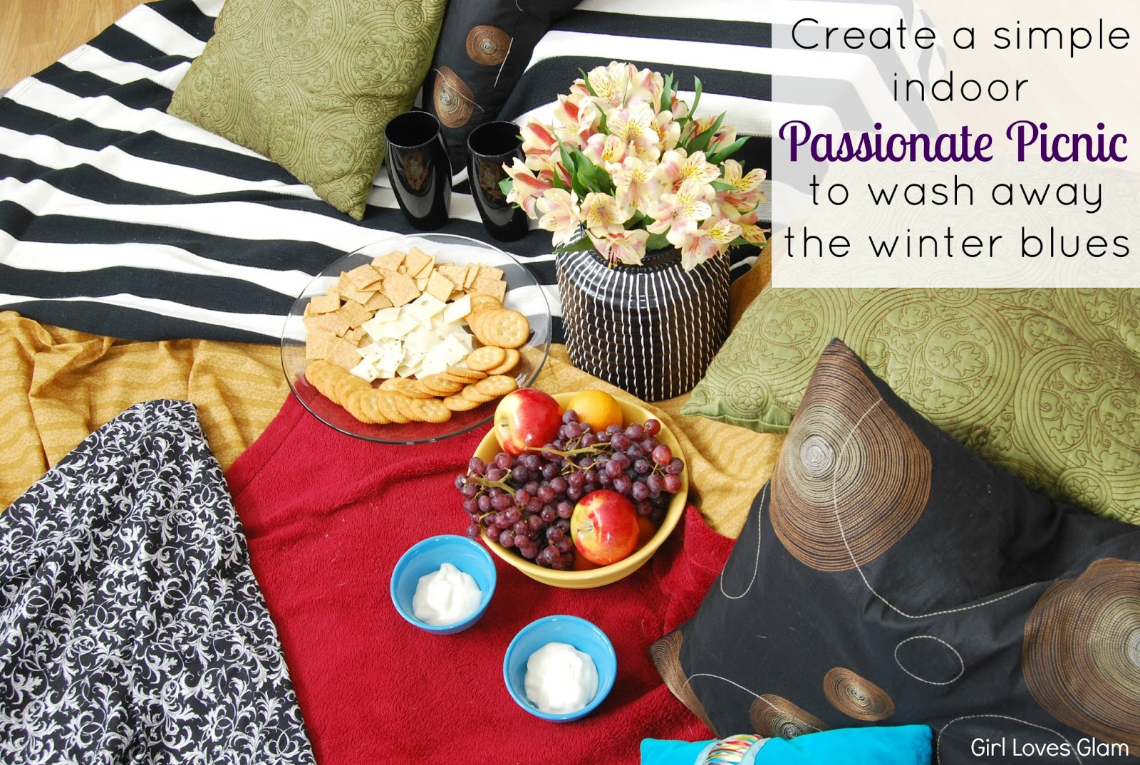 Indoor Picknick indoor picnic for two glam