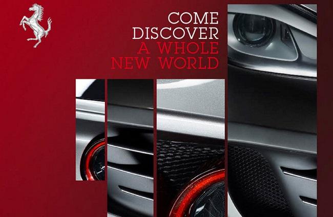 Hình ảnh teaser đầu tiên của siêu xe FF phiên bản nâng cấp