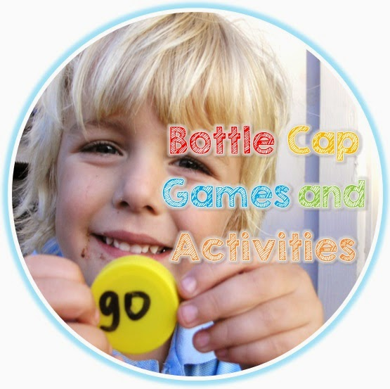 Bottle Cap Game Freebie from Clever Classroom