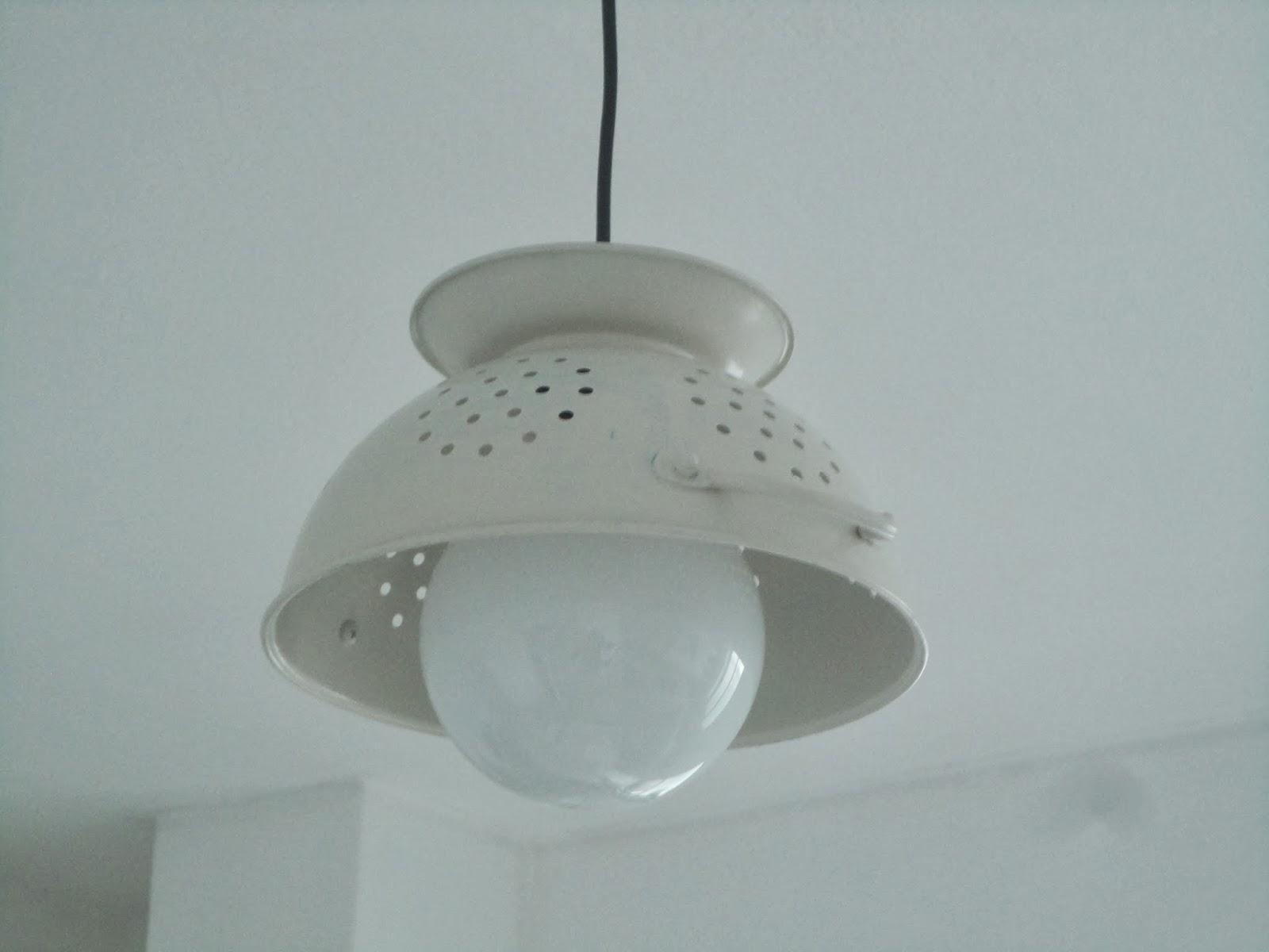 Le Cinci Cose: Lampadario fai da te / DIY lamp