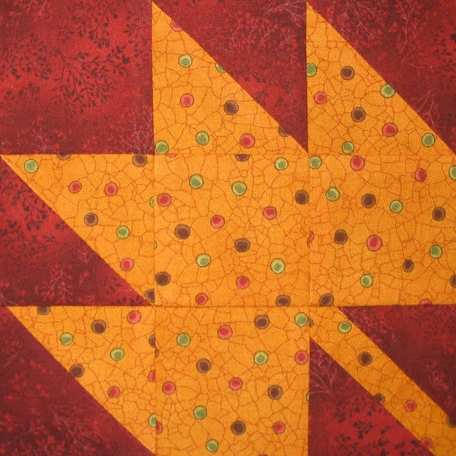Quilt Pattern For Maple Leaf : Starwood Quilter: Maple Leaf Quilt Block