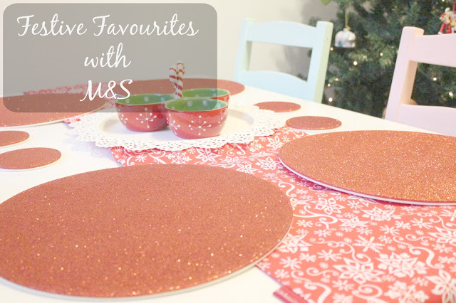 festive favourites with Marks & Spencer