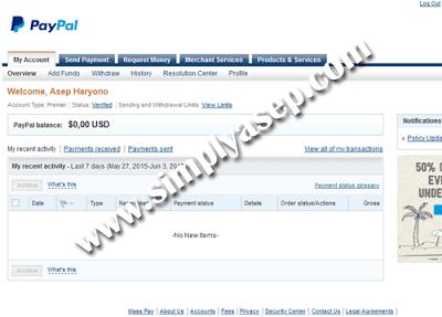 Lelang Akun Google Adsense Dan PayPal