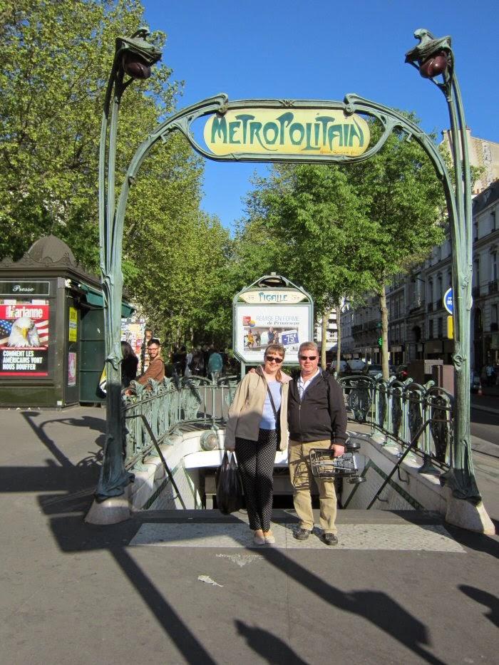 Paris, Vintage Metro