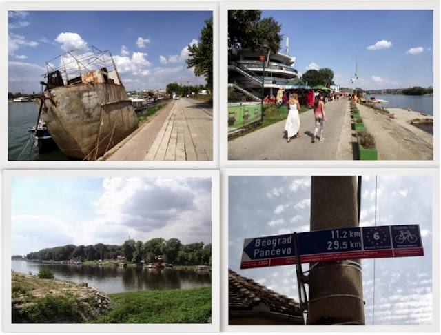 Distintos lugares que podemos acceder mediante bicicleta.