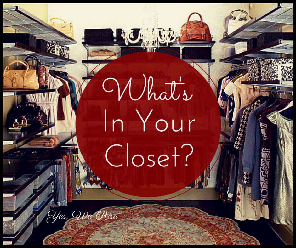 What's in your closet? Unburdening emotional baggage | Yes, We Rise