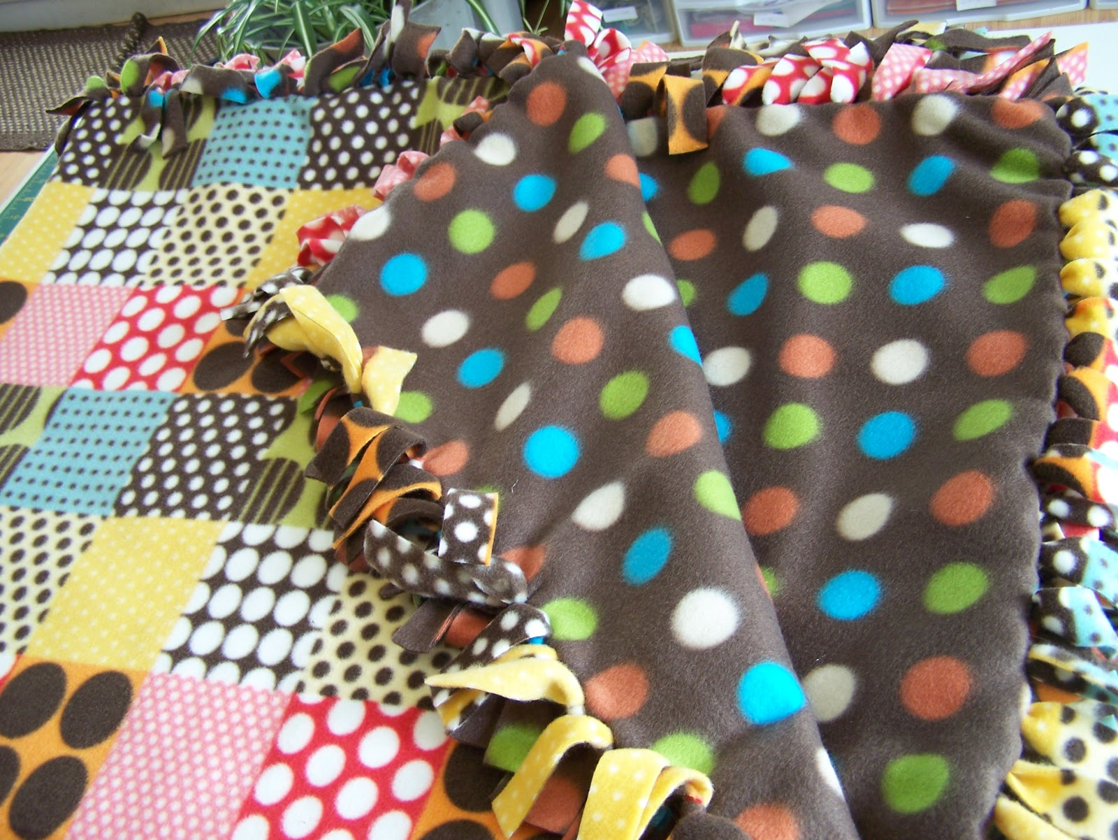 How to make a no sew tie blanket daily dish magazine recipes how to make a no sew tie blanket daily dish magazine recipes travel crafts ccuart Images