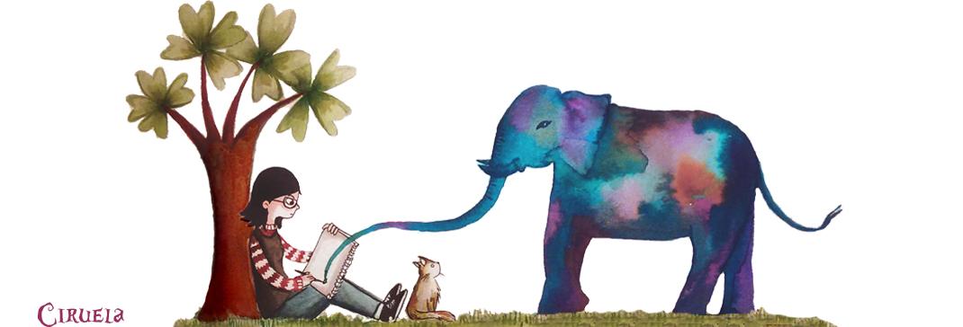 Cuadernos, dibujos, ciruelas y elefantes